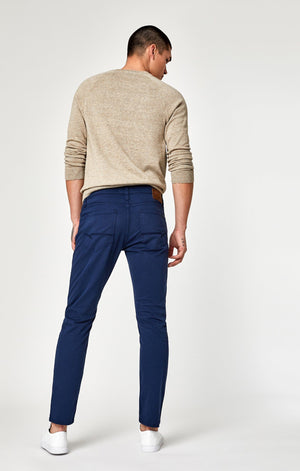 ZACH STRAIGHT LEG IN MARINE BLUE TWILL - Mavi Jeans