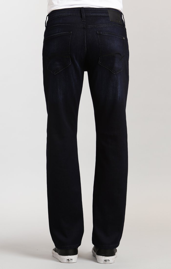ZACH STRAIGHT LEG IN DEEP USED CAPITOL HILL - Mavi Jeans
