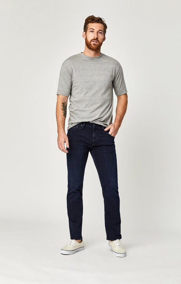 ZACH STRAIGHT LEG IN DEEP INDIGO WILLAMSBURG - Mavi Jeans