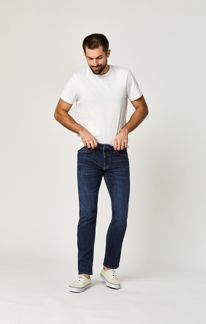 ZACH STRAIGHT LEG IN DEEP PORTLAND - Mavi Jeans
