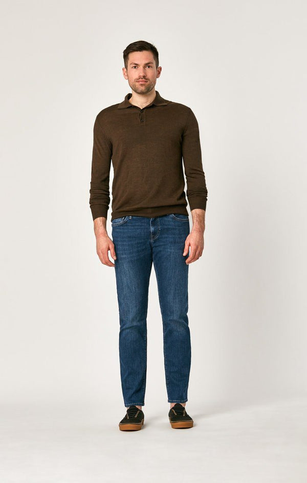 ZACH STRAIGHT LEG IN DARK PORTLAND - Mavi Jeans