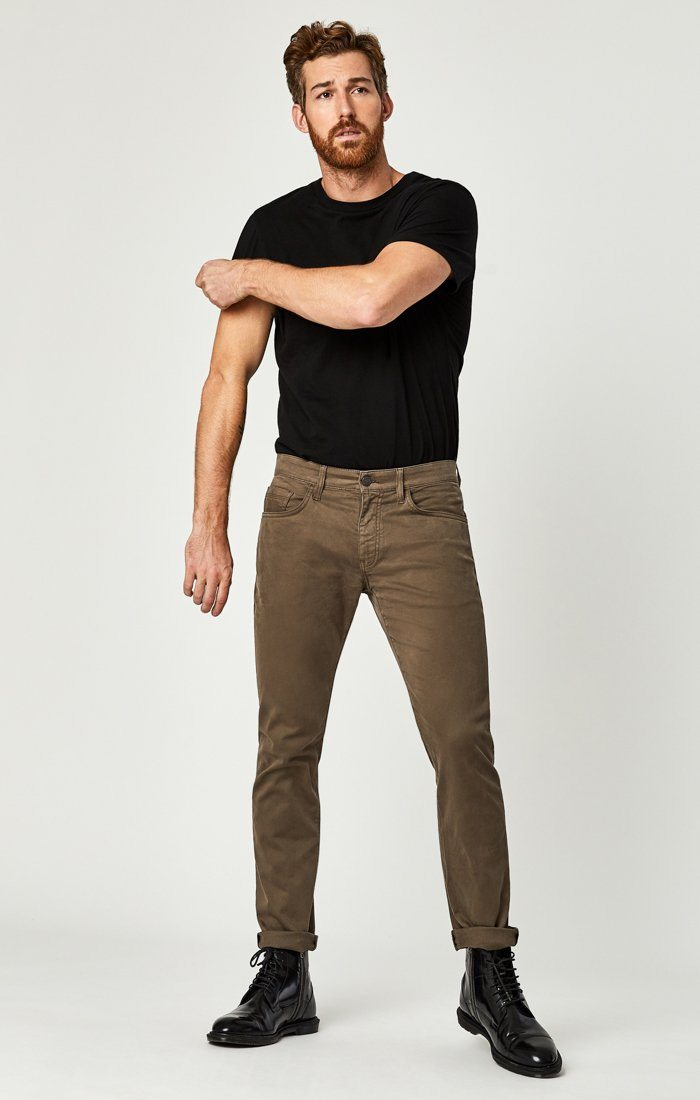 ZACH STRAIGHT LEG IN MOREL SATEEN TWILL Image 1