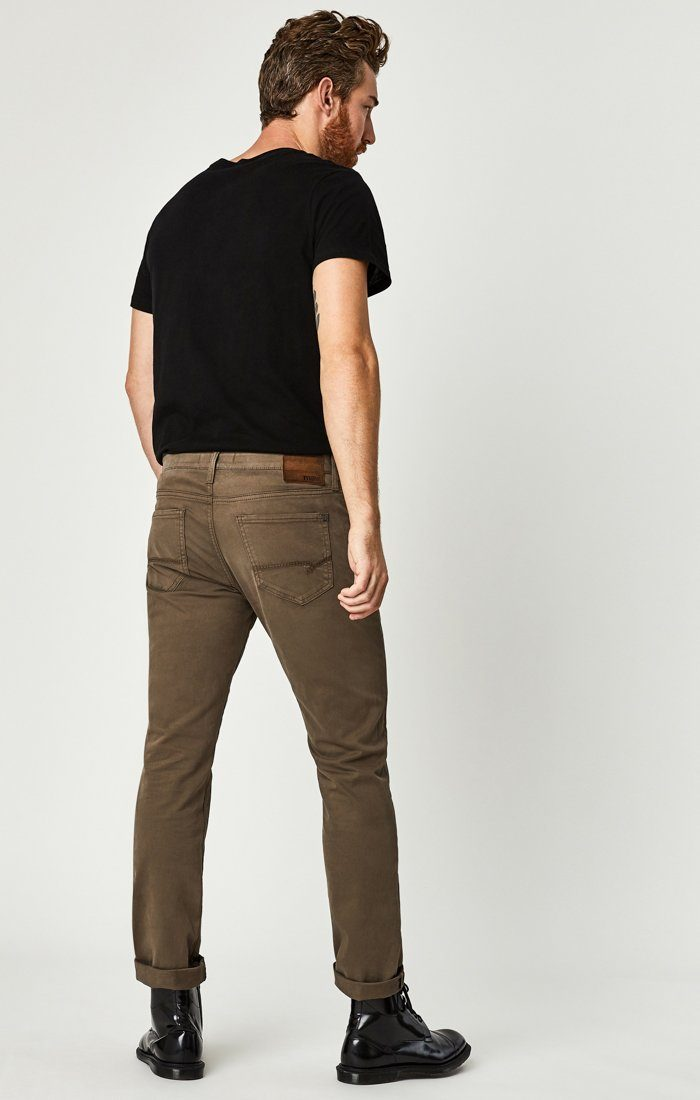 ZACH STRAIGHT LEG IN MOREL SATEEN TWILL Image 3
