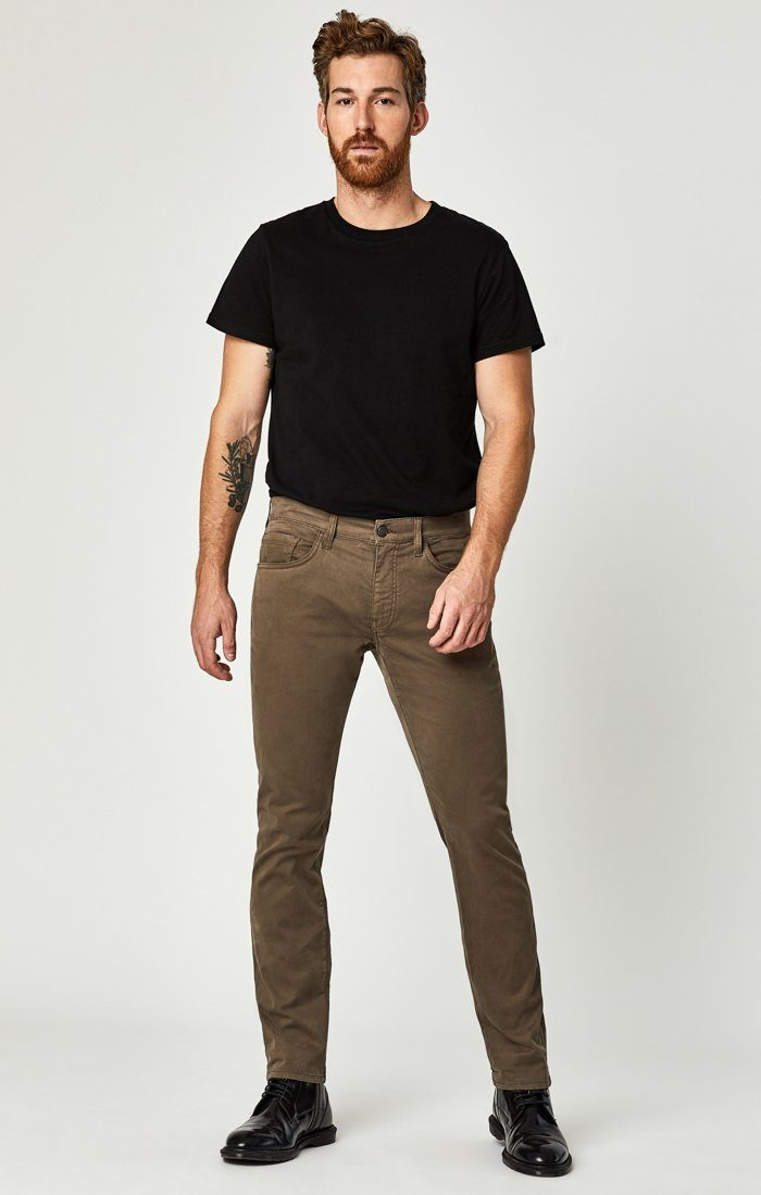 ZACH STRAIGHT LEG IN MOREL SATEEN TWILL Image 4