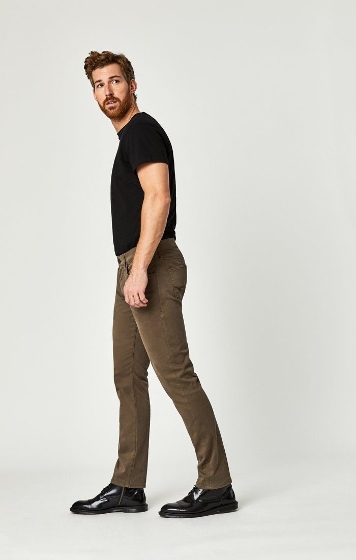 ZACH STRAIGHT LEG IN MOREL SATEEN TWILL Image 7