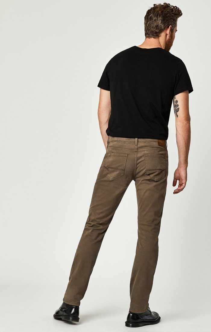 ZACH STRAIGHT LEG IN MOREL SATEEN TWILL Image 2