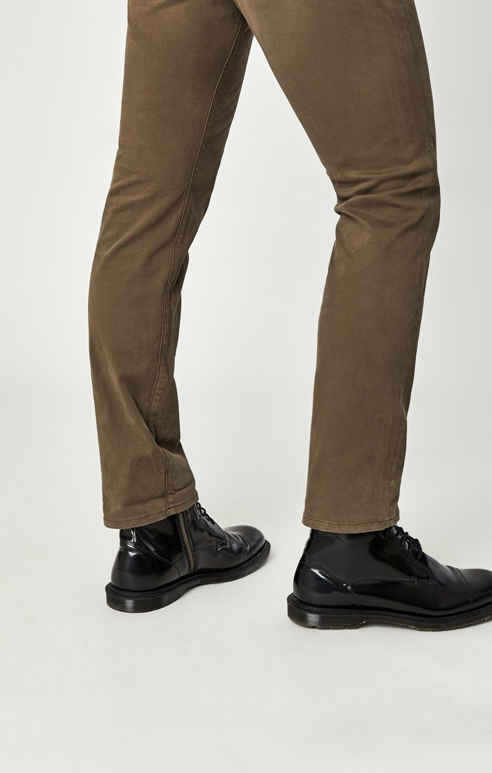 ZACH STRAIGHT LEG IN MOREL SATEEN TWILL Image 8