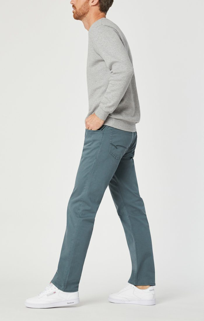 ZACH STRAIGHT LEG IN STORMY WEATHER SATEEN - Mavi Jeans