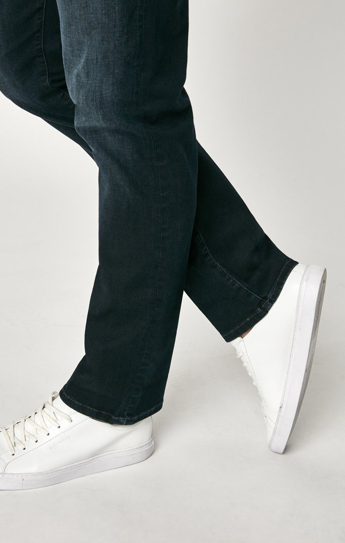 ZACH STRAIGHT LEG IN DEEP INK CASHMERE - Mavi Jeans