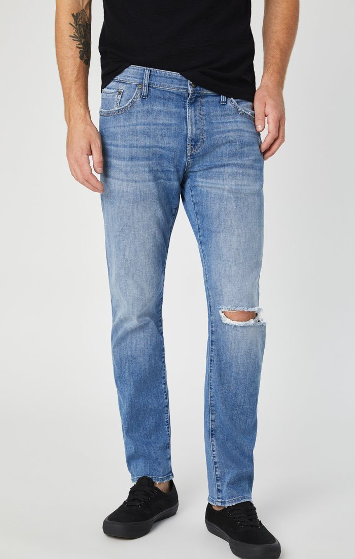 ZACH STRAIGHT LEG IN INDIGO RIPPED AUTHENTIC VINTAGE Image 5
