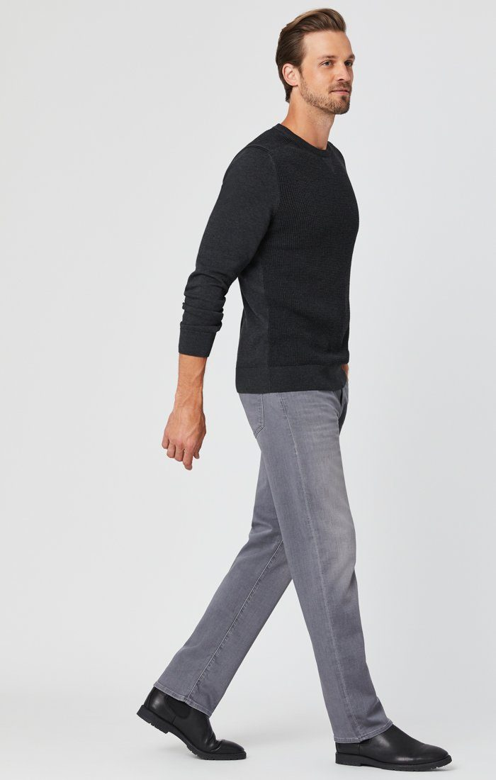 ZACH STRAIGHT LEG JEANS IN MID GREY ATHLETIC Image 1