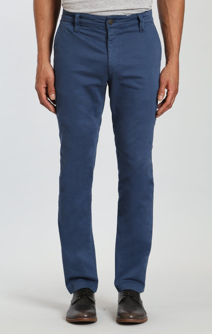 EDWARD CHINO IN NAVY TWILL - Mavi Jeans