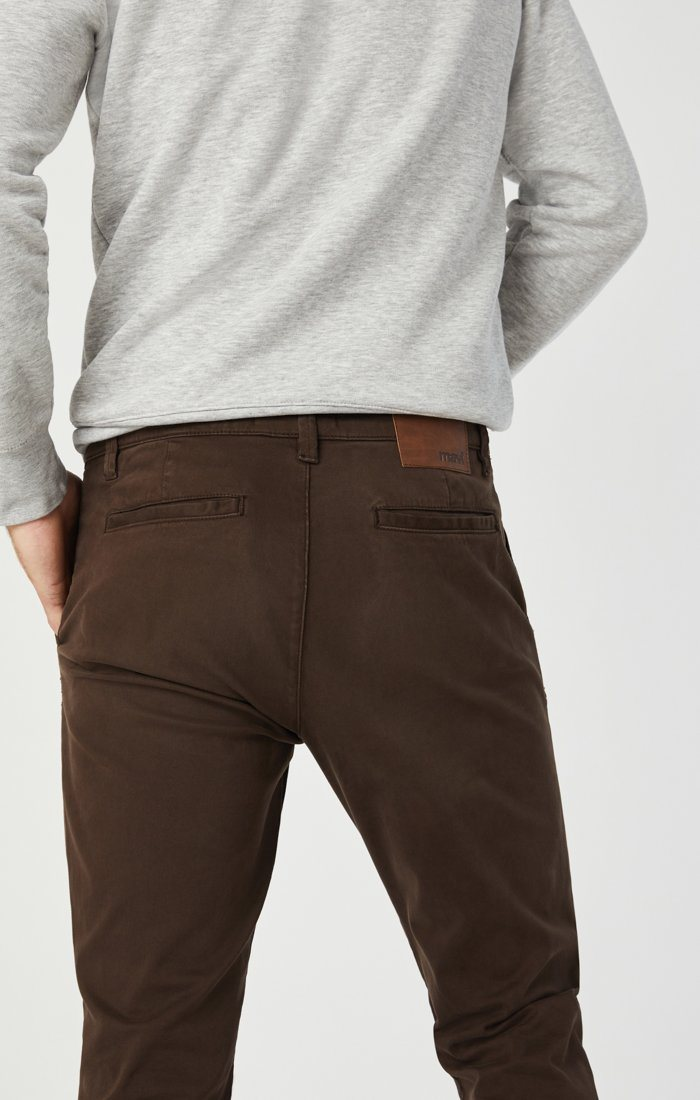 EDWARD CHINO IN COFFEE BEAN TWILL Image 5