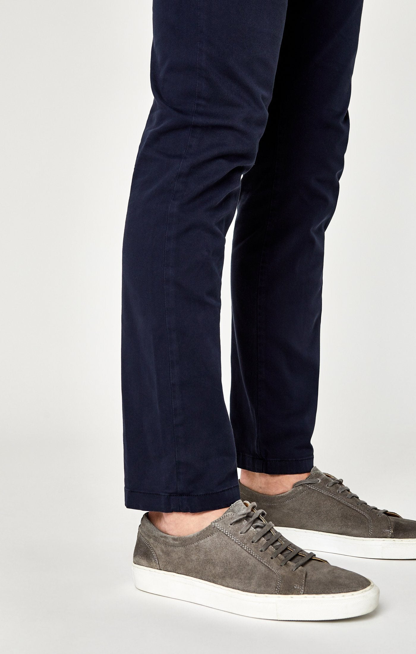 JOHNNY SLIM CHINO IN DARK NAVY TWILL Image 6