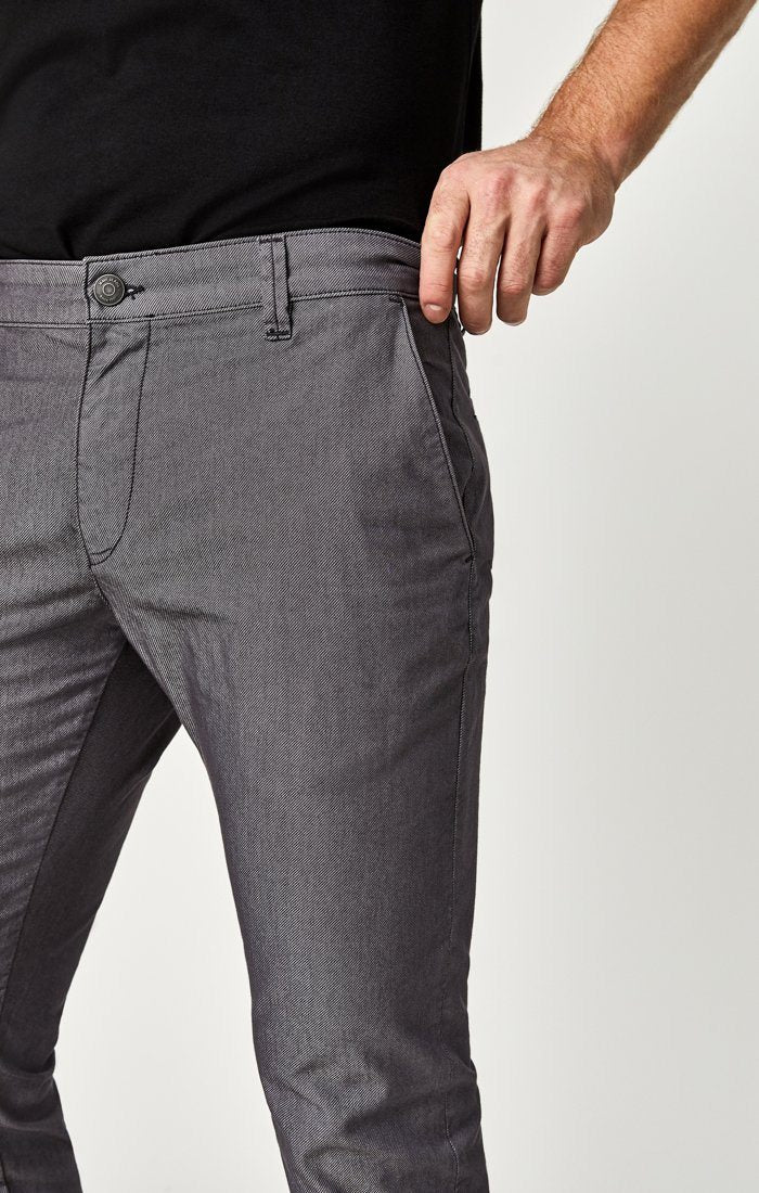 JOHNNY SLIM CHINO IN STONE DIAGONAL TWILL - Mavi Jeans