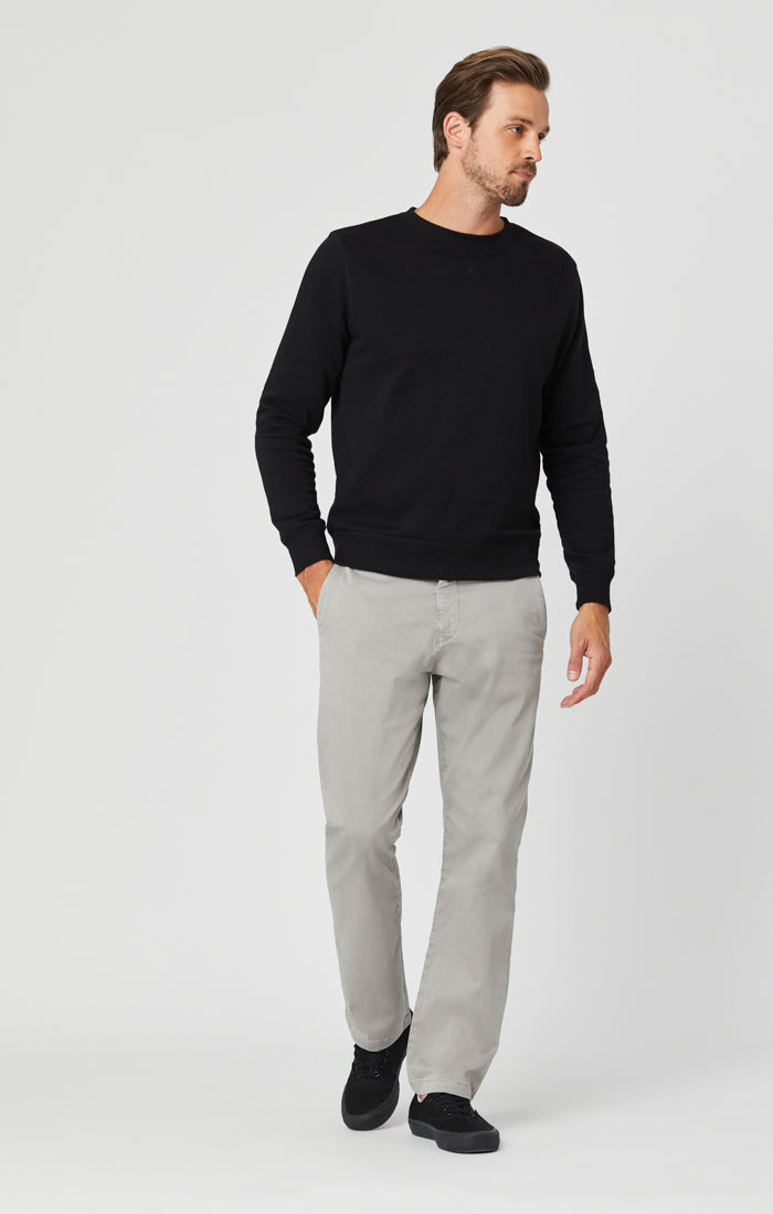 PHILIP RELAXED STRAIGHT LEG IN GREY TWILL Image 3
