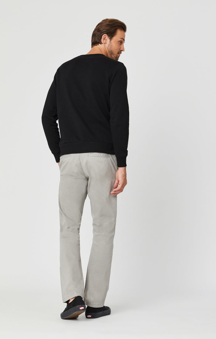 PHILIP RELAXED STRAIGHT LEG IN GREY TWILL Image 2