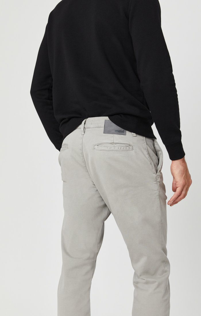 PHILIP RELAXED STRAIGHT LEG IN GREY TWILL Image 5