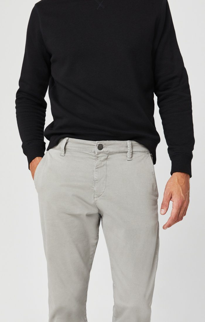 PHILIP RELAXED STRAIGHT LEG IN GREY TWILL Image 1
