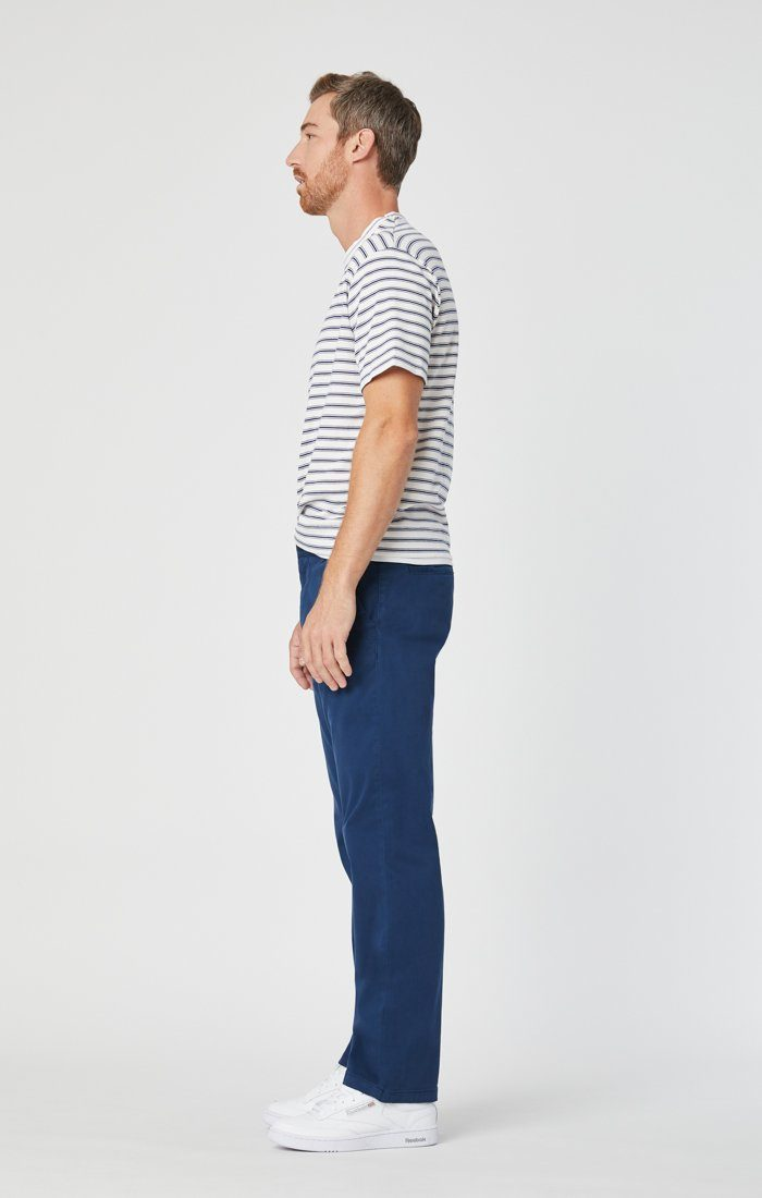 PHILIP RELAXED STRAIGHT CHINO IN NAVY TWILL Image 4