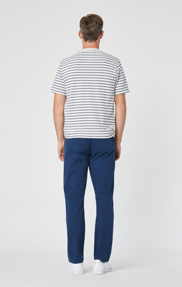 PHILIP RELAXED STRAIGHT CHINO IN NAVY TWILL Image 5