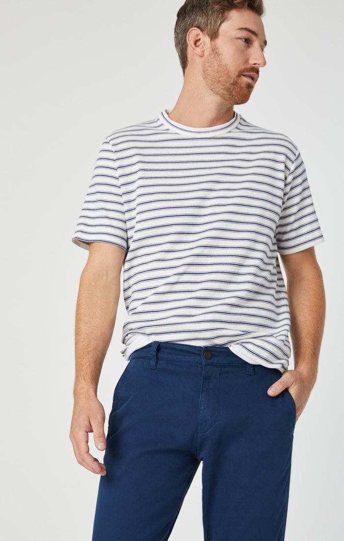 PHILIP RELAXED STRAIGHT CHINO IN NAVY TWILL Image 8