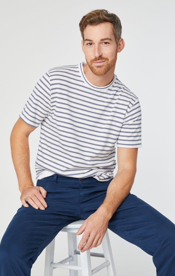 PHILIP RELAXED STRAIGHT CHINO IN NAVY TWILL Image 6