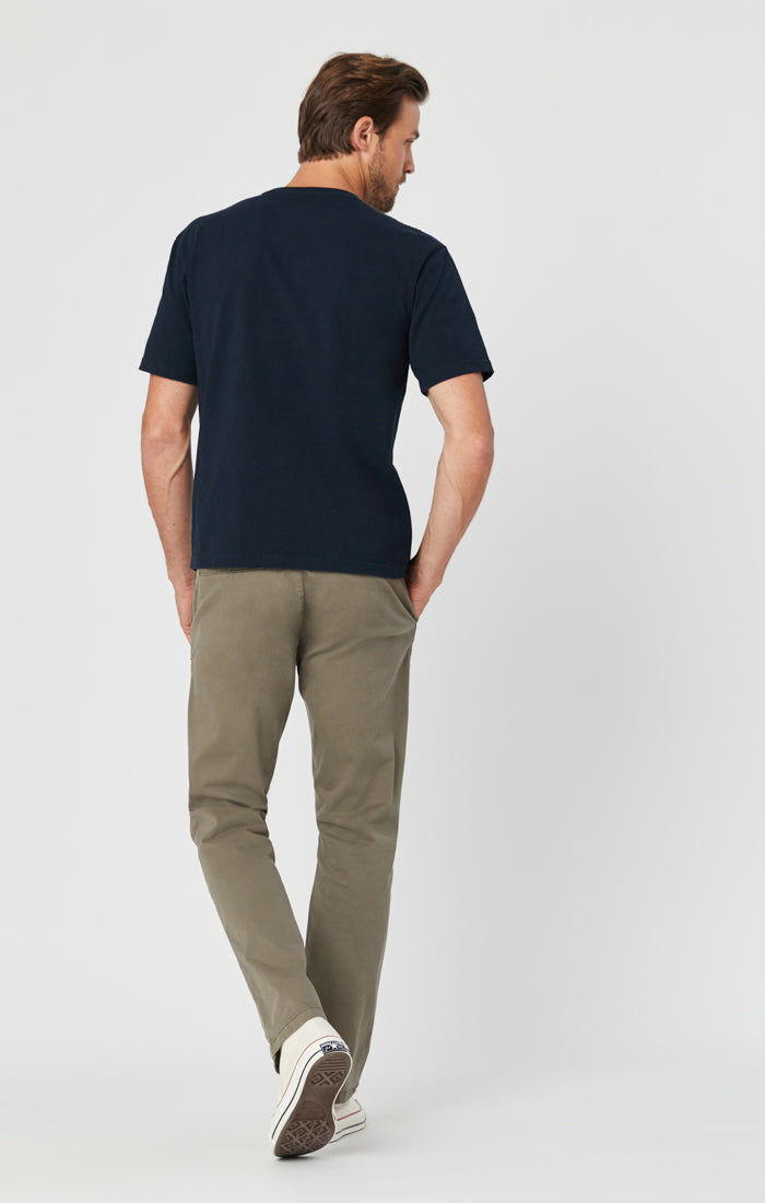 PHILIP RELAXED STRAIGHT LEG IN DUSTY OLIVE TWILL Image 5