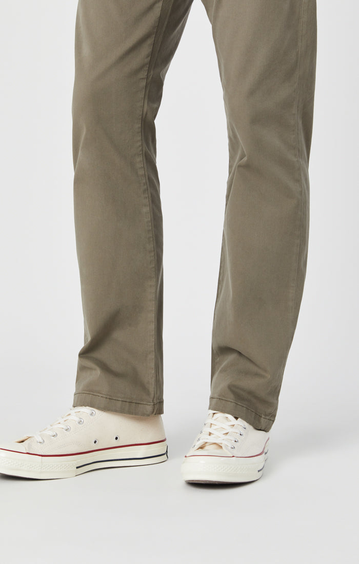 PHILIP RELAXED STRAIGHT LEG IN DUSTY OLIVE TWILL Image 6