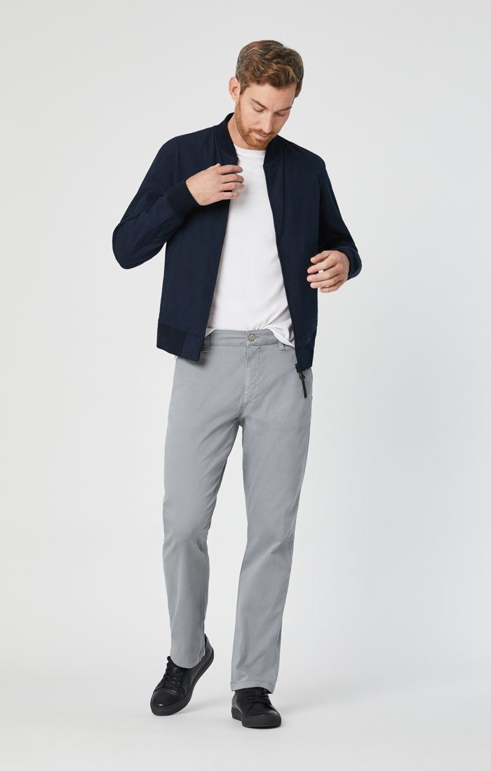 PHILIP RELAXED STRAIGHT CHINO IN SHARKSKIN TWILL Image 1