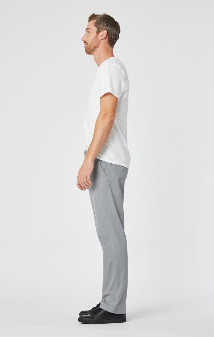 PHILIP RELAXED STRAIGHT CHINO IN SHARKSKIN TWILL Image 3