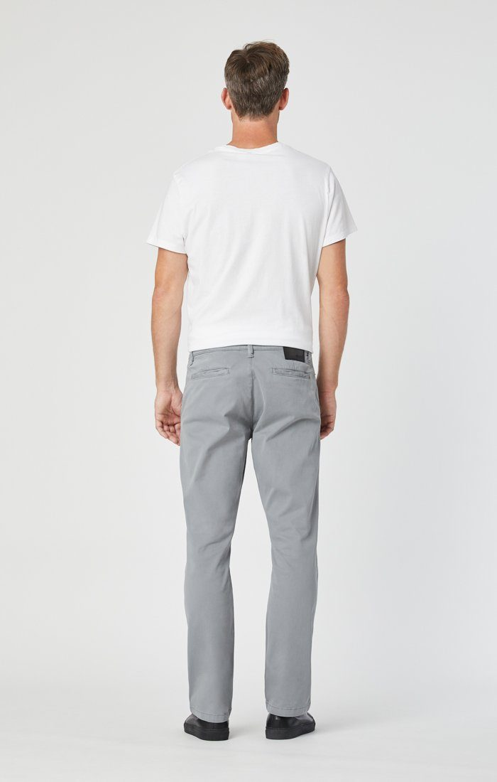 PHILIP RELAXED STRAIGHT CHINO IN SHARKSKIN TWILL Image 4