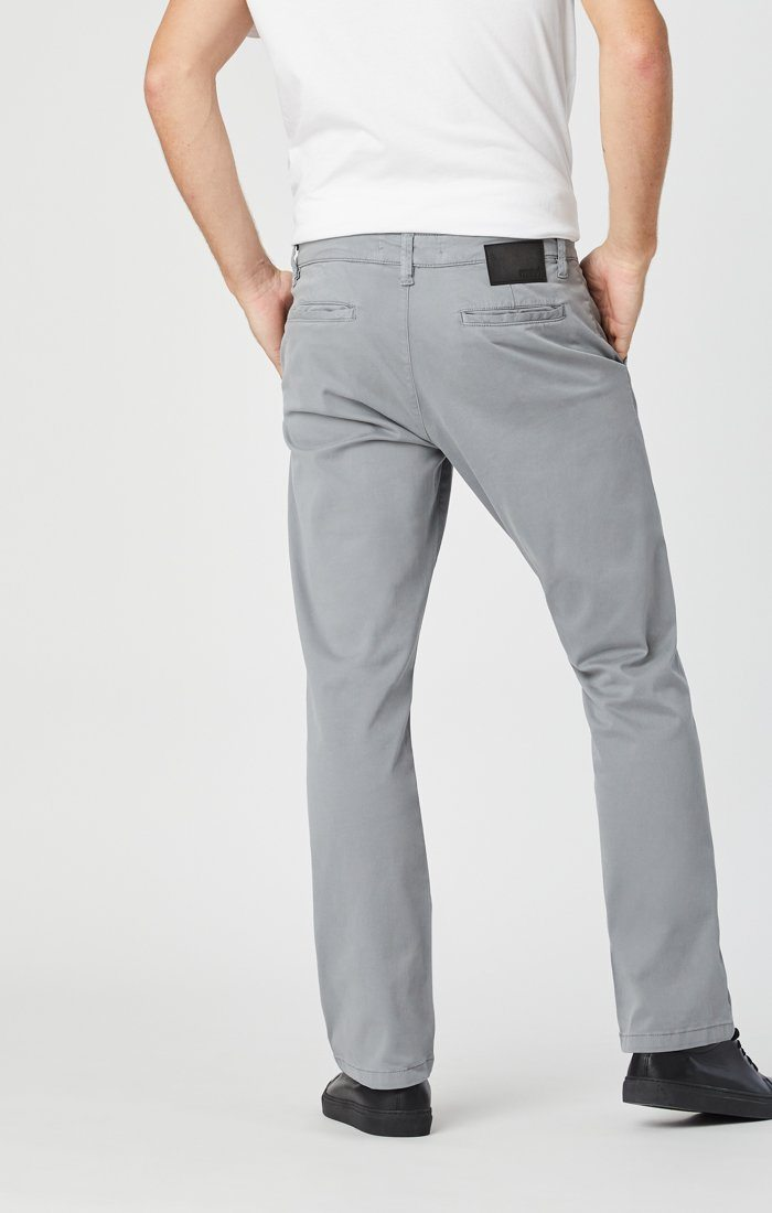 PHILIP RELAXED STRAIGHT CHINO IN SHARKSKIN TWILL Image 5
