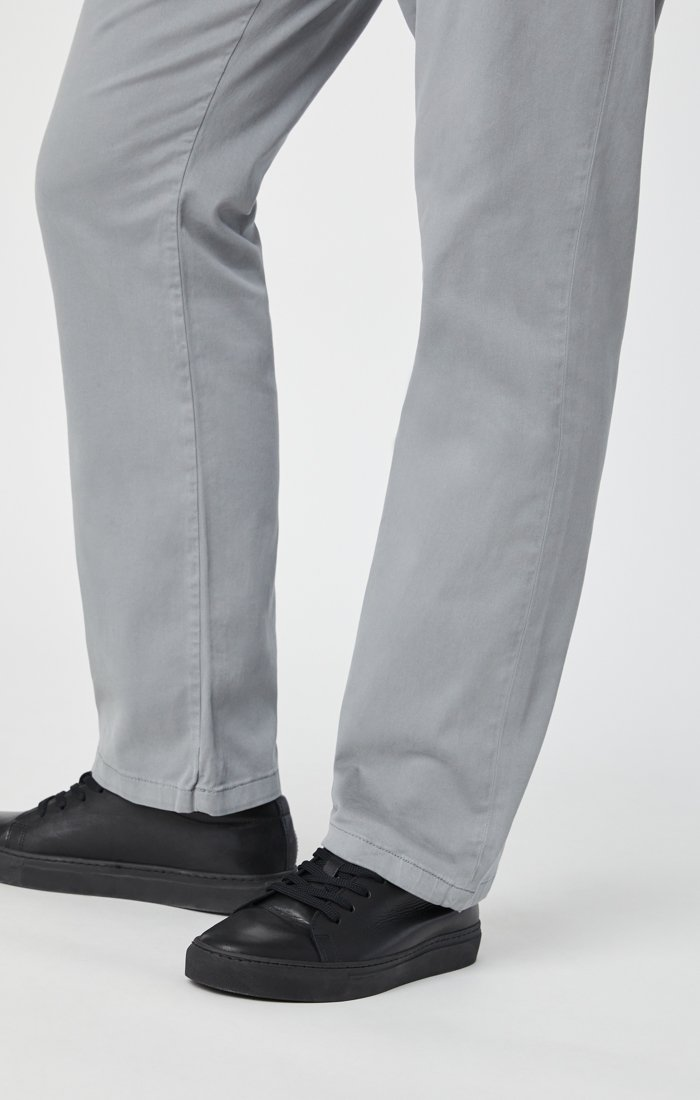 PHILIP RELAXED STRAIGHT CHINO IN SHARKSKIN TWILL Image 8