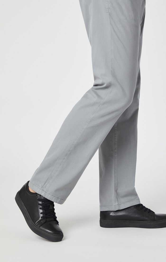 PHILIP RELAXED STRAIGHT CHINO IN SHARKSKIN TWILL Image 9