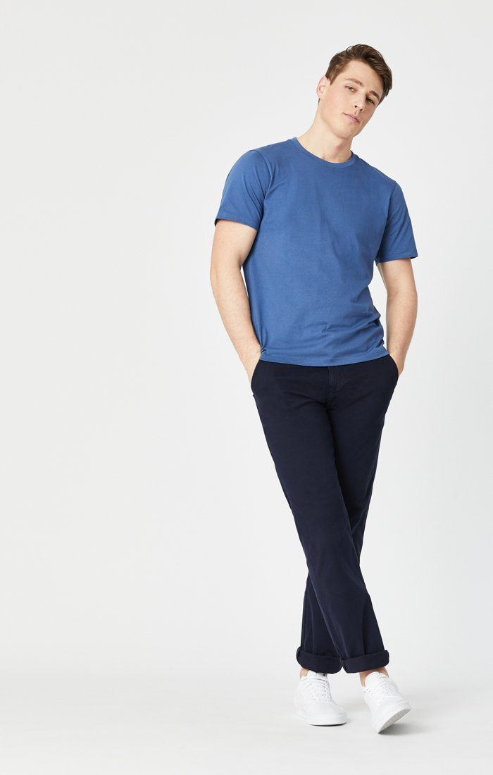 PHILIP RELAXED STRAIGHT LEG IN DARK NAVY TWILL Image 3