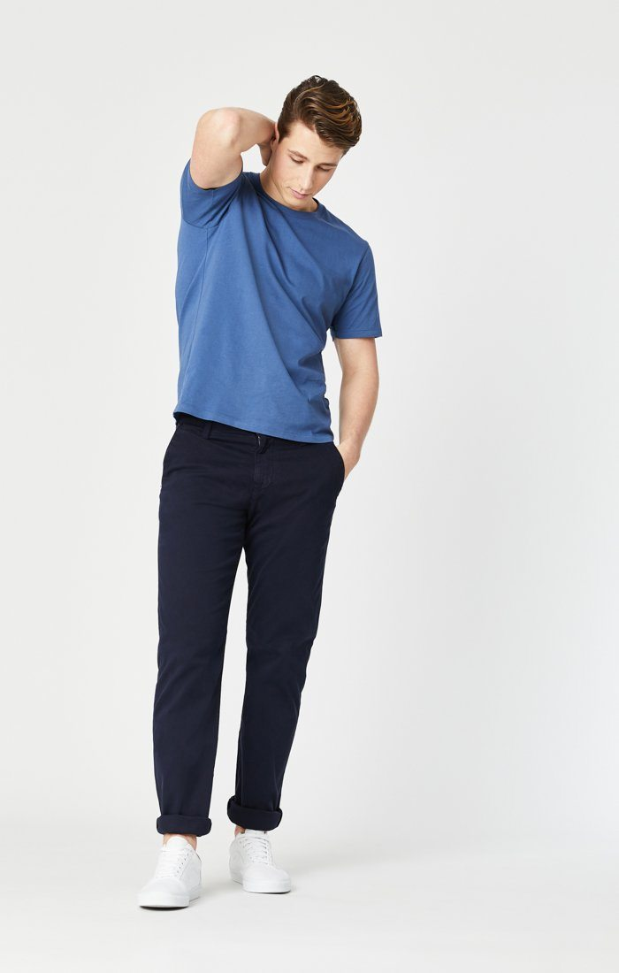 PHILIP RELAXED STRAIGHT LEG IN DARK NAVY TWILL Image 5