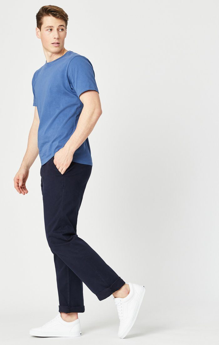 PHILIP RELAXED STRAIGHT LEG IN DARK NAVY TWILL Image 1