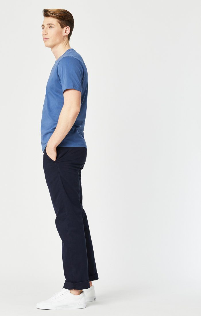 PHILIP RELAXED STRAIGHT LEG IN DARK NAVY TWILL Image 6