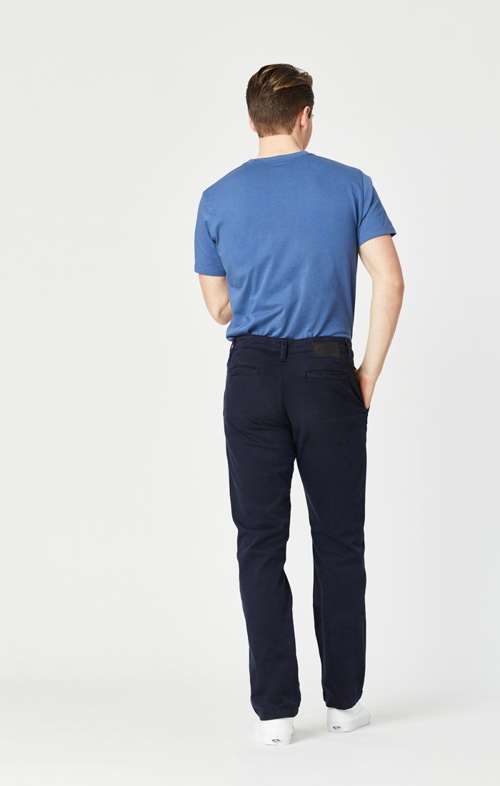 PHILIP RELAXED STRAIGHT LEG IN DARK NAVY TWILL Image 7