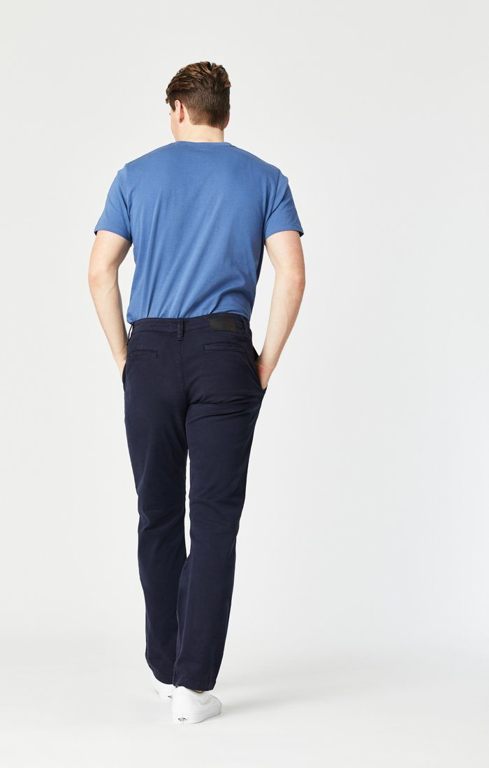 PHILIP RELAXED STRAIGHT LEG IN DARK NAVY TWILL Image 9
