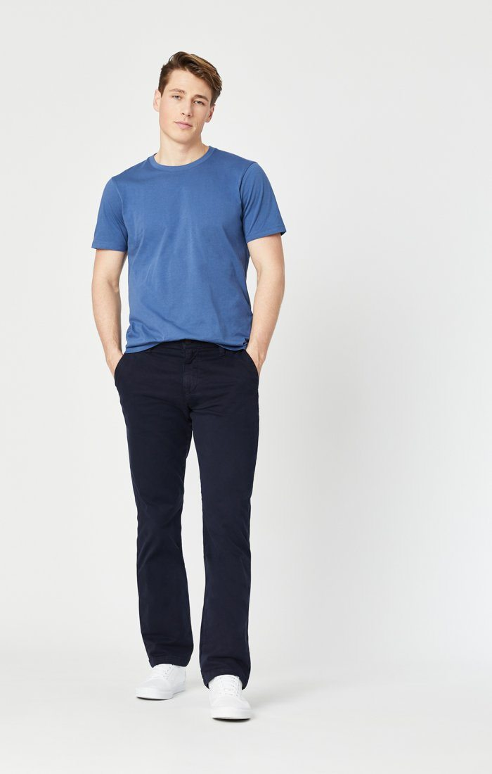 PHILIP RELAXED STRAIGHT LEG IN DARK NAVY TWILL Image 10