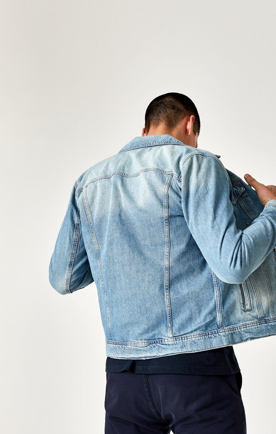FRANK JACKET IN BLEACH VINTAGE RIGID - Mavi Jeans