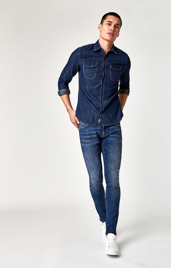 RIO SHIRT IN DEEP BRUSHED - Mavi Jeans