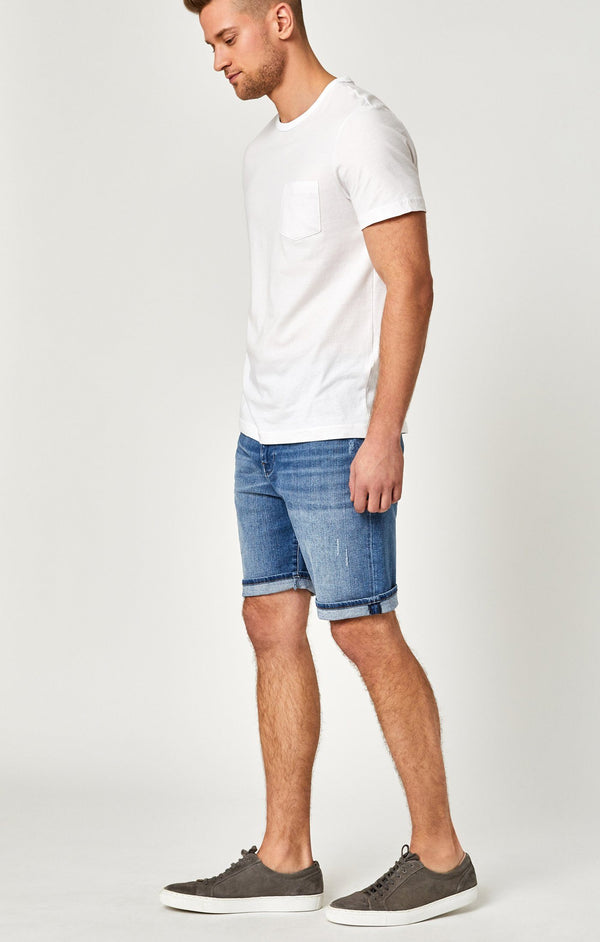 BRIAN SHORTS IN MID USED COMFORT - Mavi Jeans