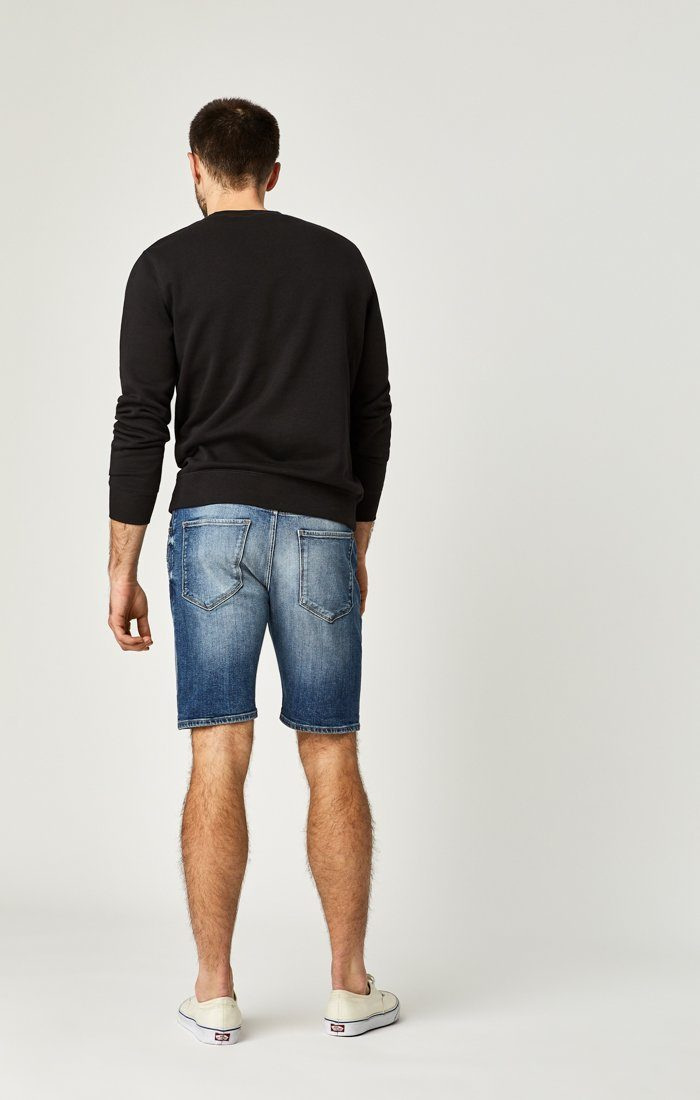 BRIAN SHORTS IN DARK SHADED AUTHENTIC VINTAGE - Mavi Jeans
