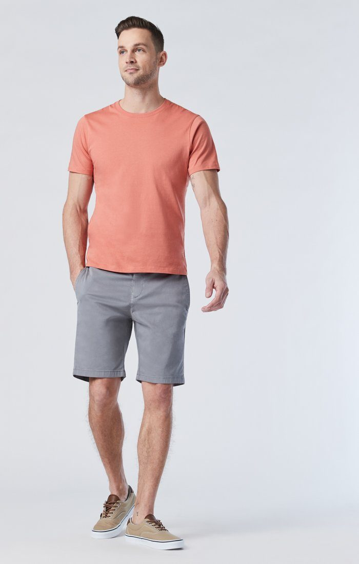 SIMON SHORTS IN SHARK SKIN TWILL Image 1