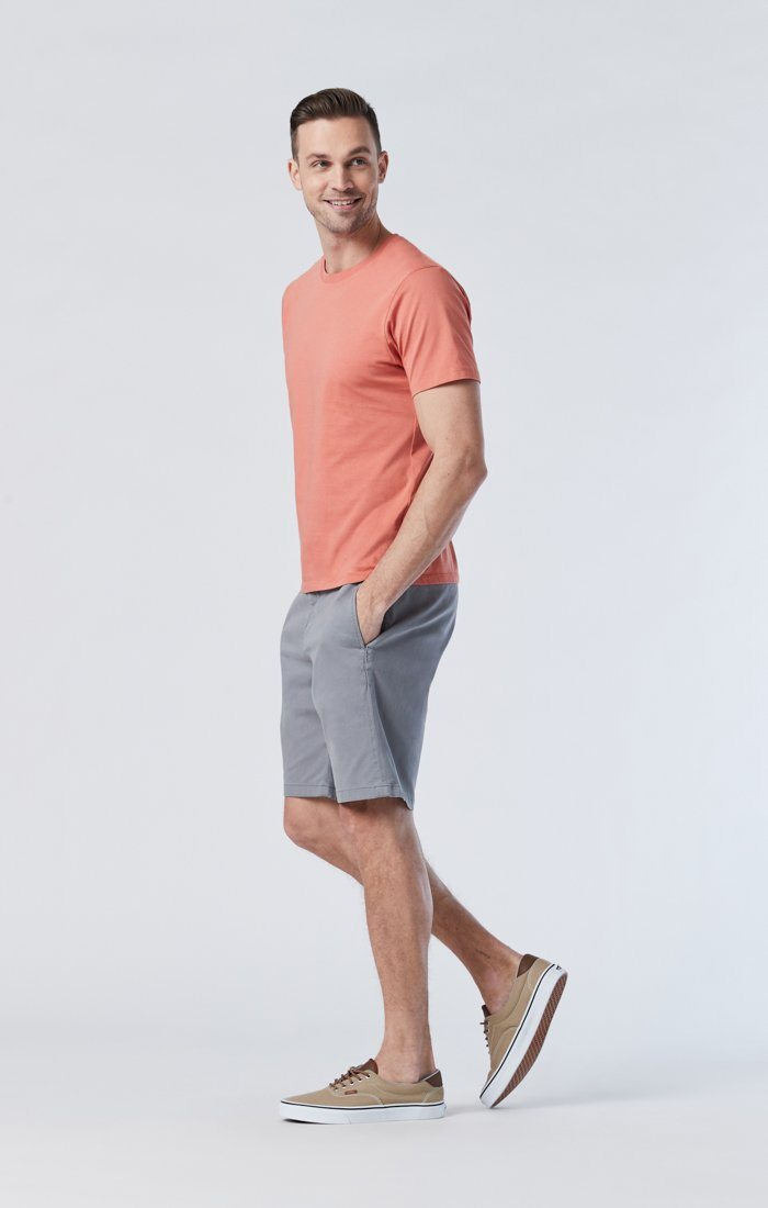 SIMON SHORTS IN SHARK SKIN TWILL Image 2