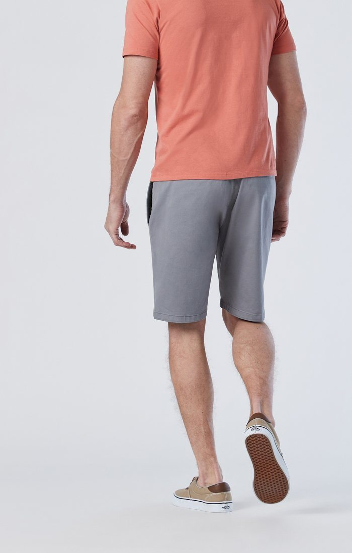 SIMON SHORTS IN SHARK SKIN TWILL Image 3