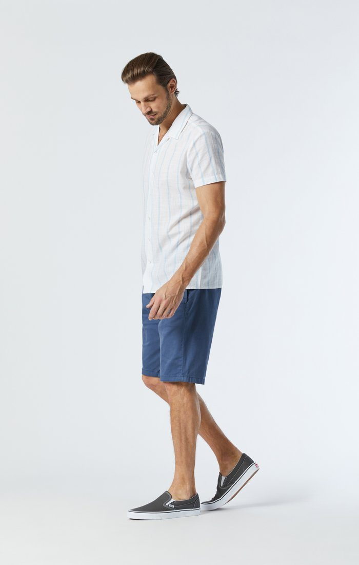 MIKE SHORTS IN VINTAGE INDIGO TWILL Image 4